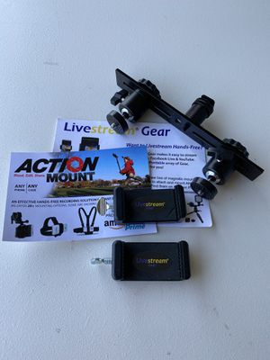 Dual camera/ GoPro mount for Sale in Bakersfield, CA