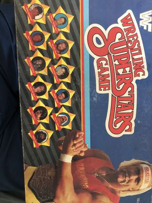 Used very old WWF board game for Sale in San Marcos, CA