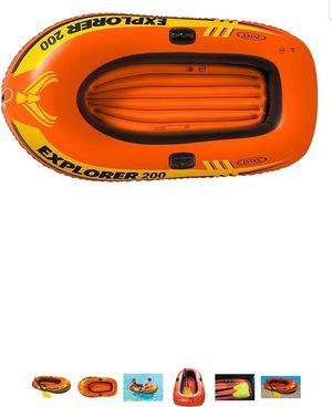 Inflatable boat explorer 200 20 obo for Sale in San Antonio, TX