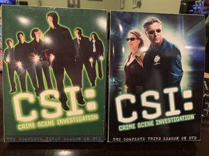 CSI Season DVD sets for Sale in Puyallup, WA