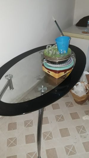 Fancy unique glass table for Sale in Baltimore, MD
