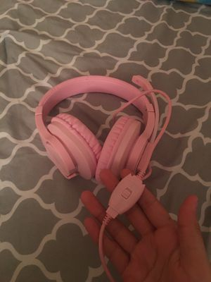 Pink gaming headset for Sale in Dundalk, MD