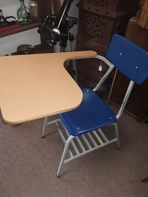 Heavy school desk and chair for Sale in Osage Beach, MO