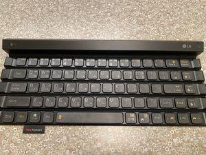 Lg rollling wireless keyboard for Sale in Plano, TX