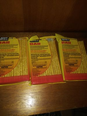 Farnam Rat Poison - Pack of 3 - 3 Pounds for Sale in Downey, CA