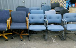 Assorted desk chairs. for Sale in Canby, OR