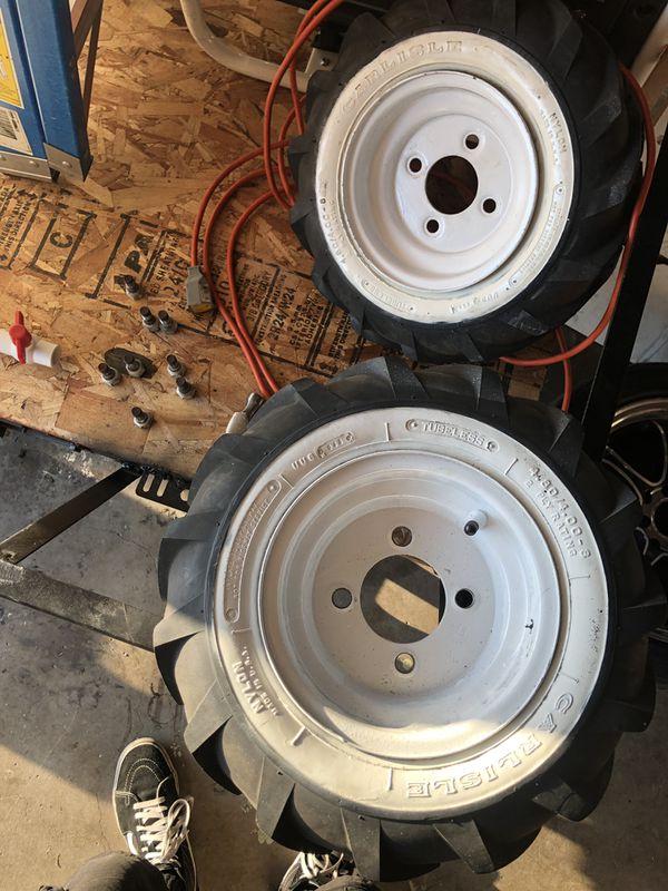 Trailer or go cart tires