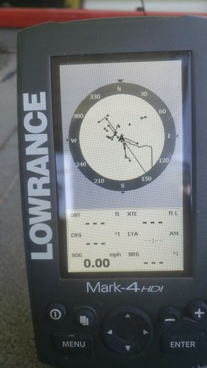 Lowrance Mark 4 HDI chart plotter. Fish finder GPS for Sale in Westlake, LA