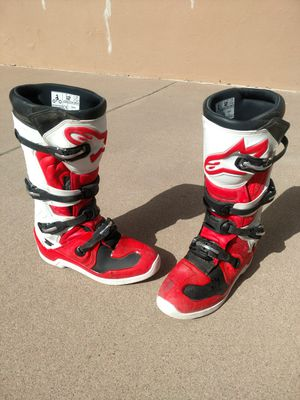 Alpinestar Tech 5 motocross boots for Sale in Payson, AZ