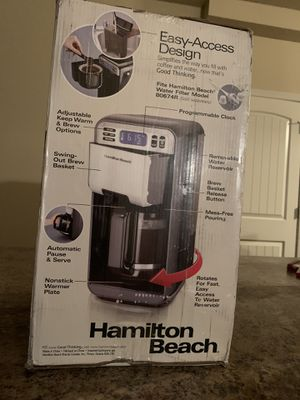 Brand New Hamilton Beach Coffee Pot Maker for Sale in McDonough, GA