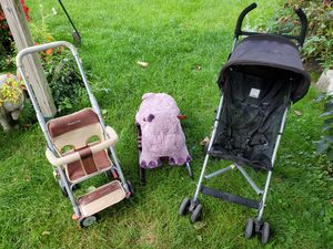2 Used Baby Walkers Stroller & Rocking Horse for Sale in Chicago, IL
