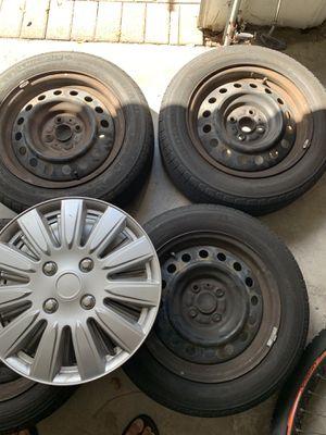 Wheels 4x100 15x6.5 185/60/15 for Sale in Boynton Beach, FL