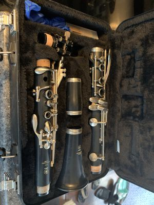 AWESOME Yamaha YCL-255 Beginning Band Clarinet WITH Mouthpiece & Case for Sale in Dallas, TX