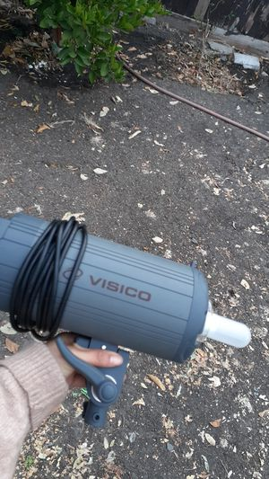 Photography lights 2 work perfect . $100 for both for Sale in Hayward, CA