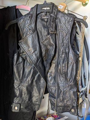 bebe black vest for Sale in Goodyear, AZ