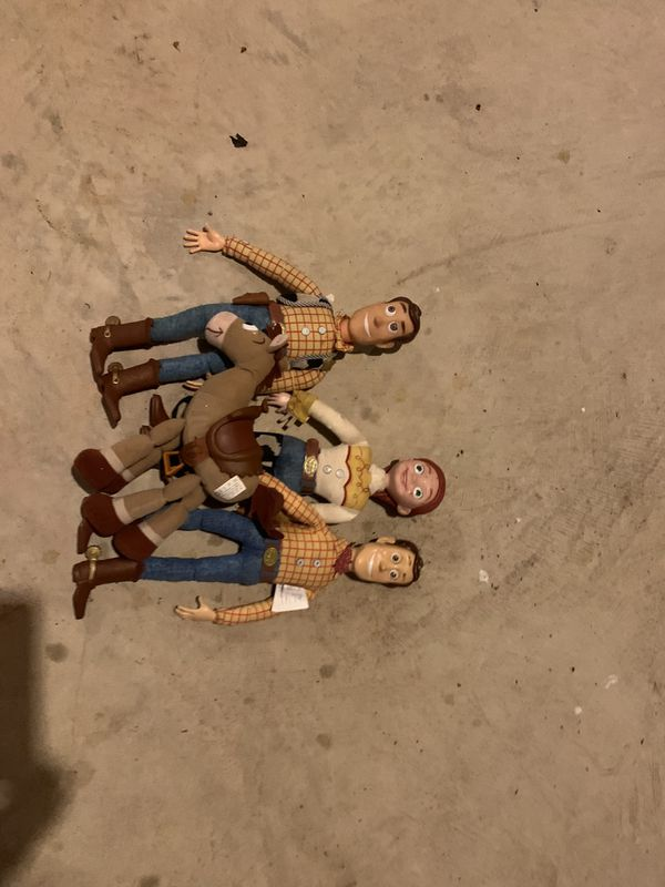 Woody$jessie and horse dolls