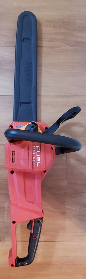 NEW MILWAUKEE FUEL BRUSHLESS CHAINSAW TOOL ONLY for Sale in Oakbrook Terrace, IL