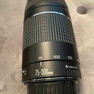 Canon EF 75-300mm F/4-5.6 Lens for Sale in Gibbsboro, NJ