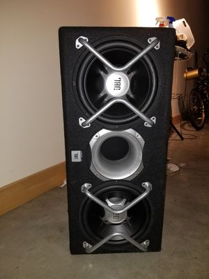 2 12 inch jbl boxed with 1200 watt jbl amp for Sale in St. Louis, MO