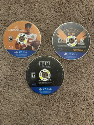 PS4 game bundle for Sale in Greenville, NC