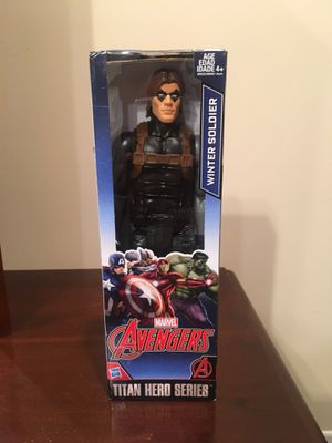 Marvels Winter Soldier Action Figure for Sale in Raleigh, NC