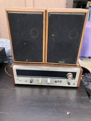 Vintage Pioneer SX 424 receiver and speakers for Sale in Gainesville, GA