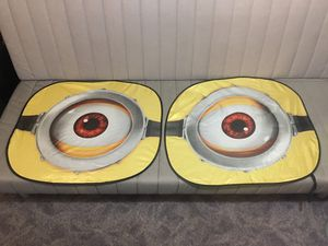 Minion Windshield shades for Sale in Pasadena, MD