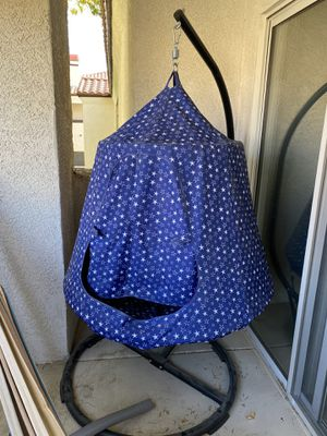 Patio hanging tent/chair with stand for Sale in Henderson, NV