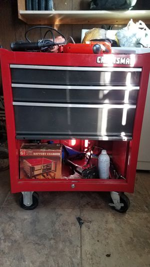 Craftsman tool box and tools..! for Sale in Manassas Park, VA