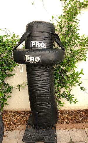 """Pro"" Speed Bag Platform, 80# Heavy Bag with Uppercut Donut for Sale in Las Vegas, NV"