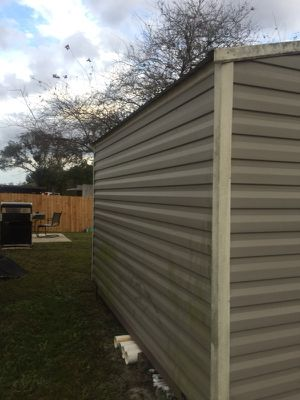 8 x 10 shed shingle roof have to sell $1800.03 years old I paid 2800 for it for Sale in Orlando, FL