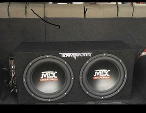 MTX Termanitor 12 s , Boss Amp for Sale in Lincoln, NE
