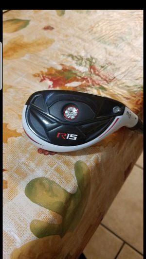 NEW! TAYLORMADE R15 GOLF CLUB 19 DEGREE RESCUE/HYBRID for Sale in Grand Prairie, TX