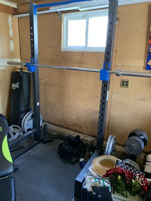 POWER RACK/ WEIGHTS / PUNCHING BAG for Sale in Holmdel, NJ