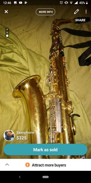 Saxophone for Sale in McKees Rocks, PA
