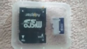 (1) 128gb Caraele micro SD card and card reader for cameras and tablets and cellphones. $30 each O.B.O (5) available for Sale in Washington, PA