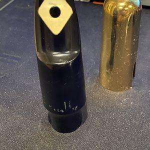 "Beechler ""Diamond Dot"" L5L tenor saxophone mouthpiece w/Gold Cover for Sale in Irvine, CA"