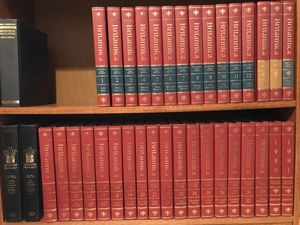 Brittanica Encyclopedia mint condition complete set 1989 for Sale in Evanston, IL