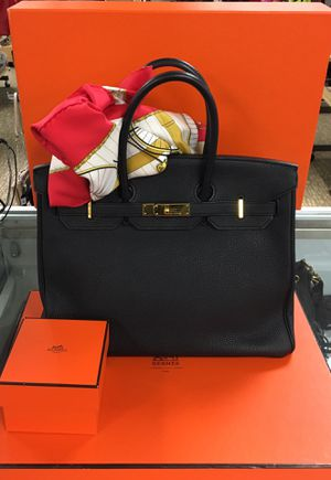 Hermès Birkin 35 Black $15,995 for Sale in LAUD LAKES, FL