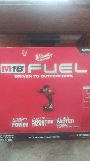 Milwaukee M18 fuel 2804-22 for Sale in Anniston, AL