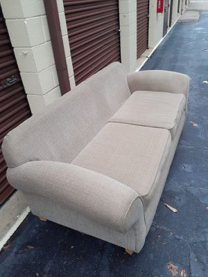 Couch w/pillows for Sale in Virginia Beach, VA