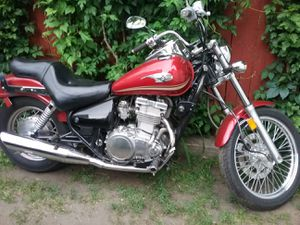 Trade for car! 2004 Kawasaki en500 Vulcan motorcycle new tires 500cc for Sale in Ansonia, CT