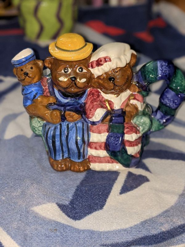 Teddy Bear Tea Pot