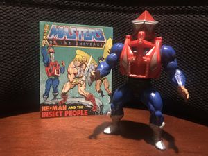 Vintage MOTU Mekanek Action Figure with Comic for Sale in Arnold, MO
