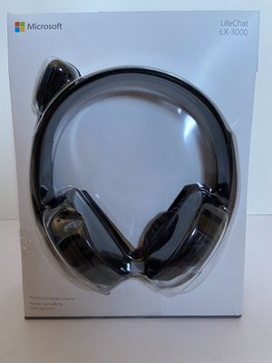 Microsoft LifeChat LX-3000 Digital USB Stereo Headset Noise-Canceling Microphone for Sale in Las Vegas, NV
