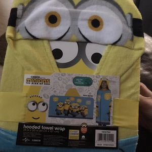Minion Kids Bath Towel for Sale in Berea, OH