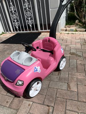 Step 2 Pink Push Car for Sale in Hollywood, FL