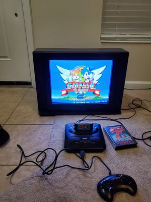 CRT TV with Sega for Sale in Tampa, FL