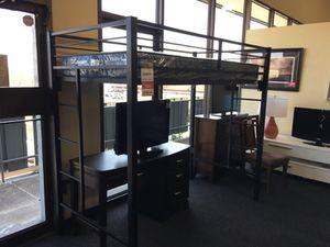 Loft Bed W/ XL Twin Mattress for Sale in Rockville, MD