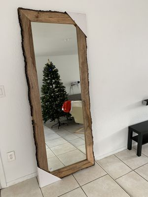 """Wall Mirror. Wood frame. Never used. 81""""x32"""" for Sale in Fort Lauderdale, FL"""